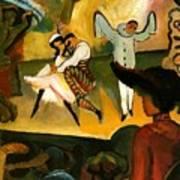 Russian Ballet  Art Print