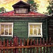 Russian House 2 Art Print