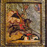 Russian Icon: Demetrius Art Print
