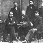 Russian Marxists, 1897 Art Print