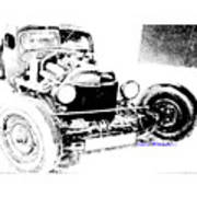 Russian Rat Rod Art Print