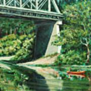 Russian River Art Print