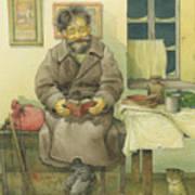 Russian Scene 03 Art Print