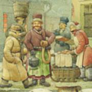 Russian Scene 04 Art Print
