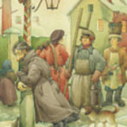 Russian Scene 06 Art Print