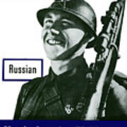 Russian - This Man Is Your Friend Art Print