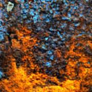Rust Abstract 3 Art Print