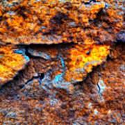 Rust Abstract 9 Art Print