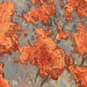 Rust Art Art Print