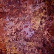 Rust Autumn Art Print