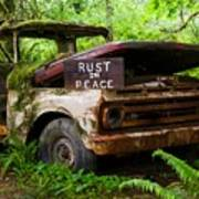 Rust In Peace 2 Art Print