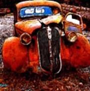 Rust In Peace Art Print