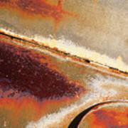 Rust Is Beautiful 1 Art Print