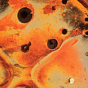 Rust Is Beautiful 2 Art Print