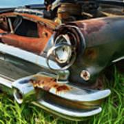 Rust Never Sleeps 5 Art Print