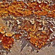 Rust On A Pipe Art Print