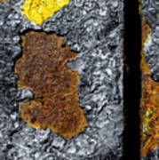 Rust On The Railroad Bridge Art Print