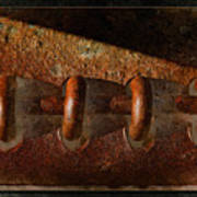 Rust Rings Art Print