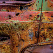 Rusted Beauty Art Print