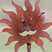 Rusted Sunshine Art Print