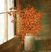 Rustic Bouquet Art Print