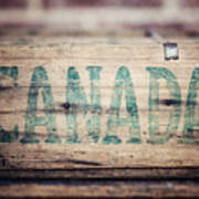 Rustic Canada Art Print