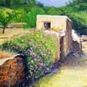 Rustic Landscape  Art Print