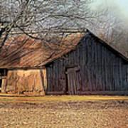 Rustic Midwest Barn Art Print