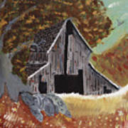 Rustic Old Barn Art Print