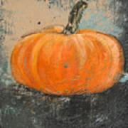 Rustic Pumpkin Art Print