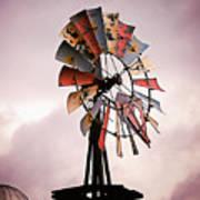 Rustic Windmill Art Print