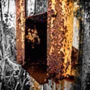 Rusting Away Art Print