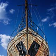 Rusting Boat Art Print