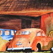 Rusting Art Print