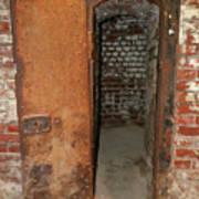 Rusty Door At Ohio Prison Art Print