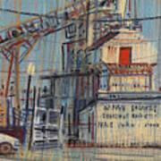 Rusty Door Print by Donald Maier