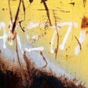Rusty Dumpster#8 Art Print