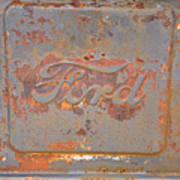 Rusty Ford Art Print