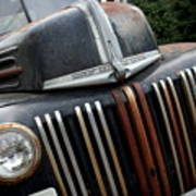 Rusty Old Ford Truck - Img4413 Print by Wingsdomain Art and Photography