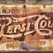 Rusty Pepsi Cola Art Print