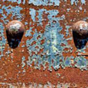 Rusty Rivets Art Print
