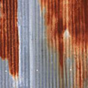 Rusty Siding Art Print