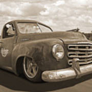 Rusty Studebaker In Sepia Art Print