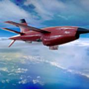 Ryan Bqm-34 Firebee Target Drone Missile Art Print