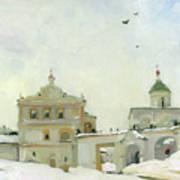 Ryazan Kremlin In Winter Art Print