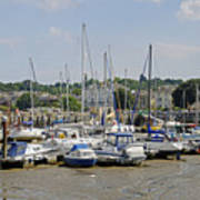 Ryde Harbour Art Print