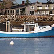 Rye Harbor - Rye New Hampshire Usa Art Print