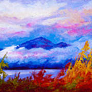Rythmn Of The Arctic Art Print by Marion Rose