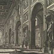 S. Giovanni In Laterano. Interior Art Print
