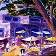 Sabado Mercado Art Print